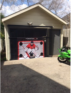 10 Foot Manual Sport Screen